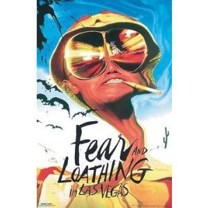 ラスベガスをやっつけろ/映画ポスター Fear & Loathing In Las Vegas フレ...