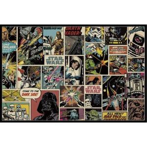 スター・ウォーズ ポスターフレームセット Star Wars (151021)|posterbin2
