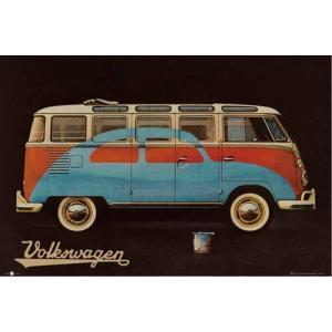 【送料¥290〜】 フォルクスワーゲン・キャンパー ポスター VW Camper Paint Advert|posterbin2