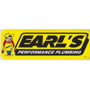【送料¥216〜】 オフィシャル ツールボックスサイズ・デカール(ステッカー)Earl's Performance Plumbing|posterbin2