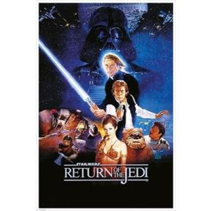 【送料¥216〜】 スターウォーズ ポストカード (ジェダイの復讐) Star Wars|posterbin2