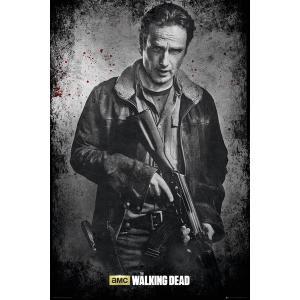 ウォーキング・デッド ポスター The Walking Dead Rick Black and White【160701】|posterbin2