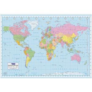 【送料¥290〜】 世界地図 ポスター World Map (110527)
