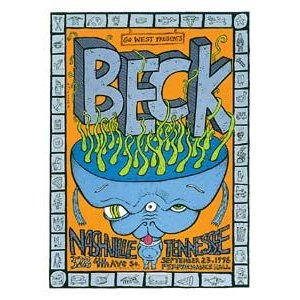 ベック   オリジナル ツアー ポスター|posterbin2