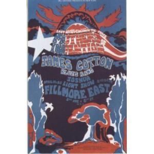 ジェイムス コットン ブルースバンド  オリジナル ツアー ポスター|posterbin2