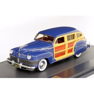 マトリックス 1/43 クライスラー タウン&カントリー ワゴン 1942 ブルー 完成品ミニカー MX20303-071 posthobbyminicarshop