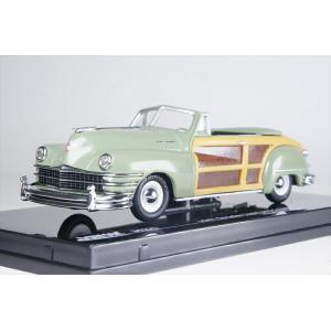 ビテス 1/43 クライスラー タウン&カントリー 1947 ヘザーグリーン 完成品ミニカー 36221 posthobbyminicarshop