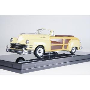 ビテス 1/43 クライスラー タウン&カントリー 1947 イエロー 完成品ミニカー 36222 posthobbyminicarshop