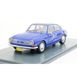 ネオ 1/43 フォルクスワーゲン カルマンギア TC 145 1970 ブルー 完成品ミニカー NEO46145 posthobbyminicarshop