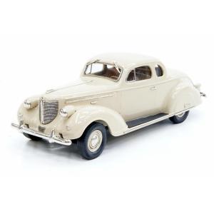 ブルックリン 1/43 クライスラー インペリアル エイト シリーズ C-19 クーペ 1938 ベージュ 完成品ミニカー BML05 posthobbyminicarshop