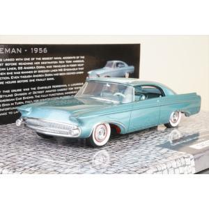 ミニチャンプス 1/43 クライスラー ノーズマン 1956 ブルー 完成品ミニカー 437143320 posthobbyminicarshop