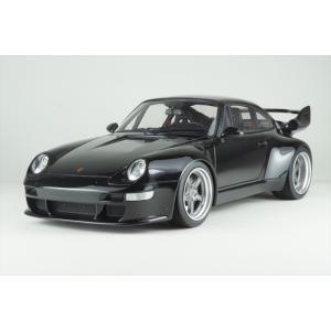 GTスピリット 1/18 ガンサーワークス ニッサン スカイライン 400R ブラック 完成品ミニカー GTS028KJ|posthobbyminicarshop