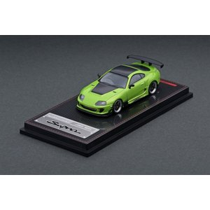 宮沢模型特注/イグニッションモデル 1/64 トヨタ スープラ JZA80 RZ グリーン メタリック 完成品ミニカー IG2125 6月予約|posthobbyminicarshop