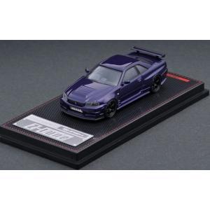 イグニッションモデル 1/64 Nismo R34 ニッサン GT-R Z-tune パープルメタリック 完成品ミニカー IG2127|posthobbyminicarshop