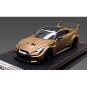 イグニッションモデル 1/64 LB-シルエットワークス GT ニッサン 35GT-RR マットゴー...