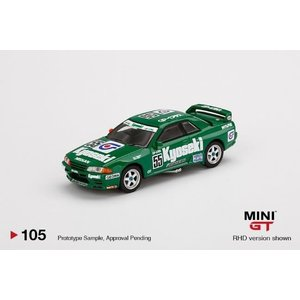 MINI GT 1/64 ニッサン スカイライン GT-R R32 No.55 Kyoseki 1993 グループA JCT 右ハンドル 完成品ミニカー MGT00105-R 8月予約|posthobbyminicarshop