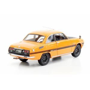 MARK43 1/43 いすゞ ベレット GT タイプR PR91W スポーツホイール メープルオレンジ 完成品ミニカー PM4314SP|posthobbyminicarshop|02