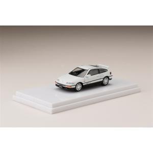 ホビージャパン 1/64 ホンダ CR-X SiR EF8 ホワイト 完成品ミニカー HJ641005W|posthobbyminicarshop
