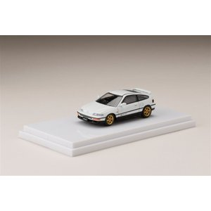 ホビージャパン 1/64 ホンダ CR-X SiR EF8 Customized Ver. ホワイト 完成品ミニカー HJ641005RW|posthobbyminicarshop