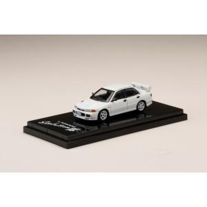 ホビージャパン 1/64 ミツビシ ランサー RS エボリューション III CE9A カスタムバージョン スコーティアホワイト 完成品ミニカー HJ641010RW 9月予約|posthobbyminicarshop