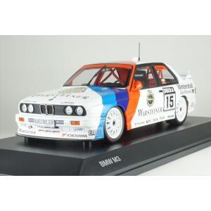 ディーラー別注 1/18 BMW M3 No.15 Mチーム 1992 DTM 完成品ミニカー 80432454789|posthobbyminicarshop