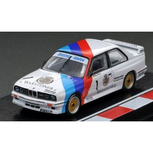 TarmacWorks/TK.company 1/64 BMW M3 No.1 1987 DTM ドライバー:M.ヘッセル 完成品ミニカー T64-009-87DTM01|posthobbyminicarshop