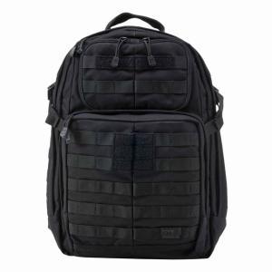 ファイブイレブンタクティカル 5.11 TACTICAL  ラッシュ 24 バックパック カラー:ブラック(58601) posthobbyshop
