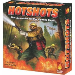 ホビージャパン ホットショット:山岳消防隊 ボードゲーム 0850680002142|posthobbyshop