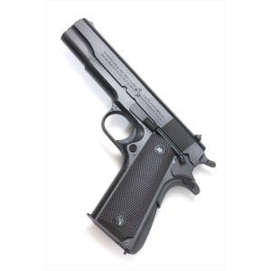 トイガン 六研/エラン ROCKEN/ELAN  コルト M1911A1 ミリタリー No.951856 DUOブローバック モデルガン|posthobbyshop