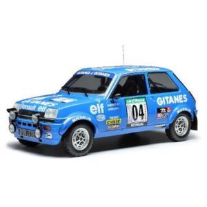 イクソ 1/18 ルノー 5 アルピーヌ No.4 1978 WRC ラリー・バンダマ J.ラニョッティ/J-M.アンドリー 完成品ミニカー 18RMC043A 4月予約|posthobbyshop