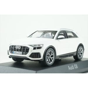 ノレブ 1/43 アウディ Q8 2018 ホワイト 完成品ミニカー 830040