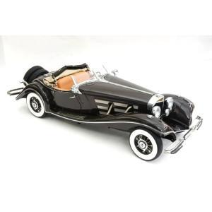 ミニカー バウアー 42016 メルセデスベンツ 500K スペシャルロードスター 1934年/ブラウン(S018H)