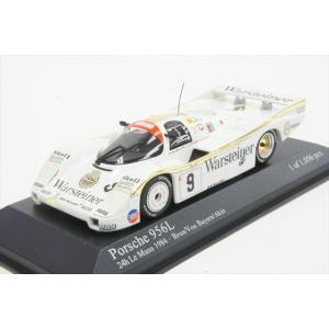 ミニカー ミニチャンプス 430846509 1/43 ポルシェ 956L 1984年 ル・マン24時間耐久レース 4位 No.9 W.Brun/P.Leopold von Bayern/B.Akin