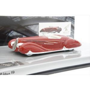 ミニカー ミニチャンプス 437116130 1/43 ドライエ タイプ165 カブリオレ 1939年 レッド