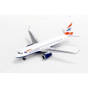 ヘルパウィングス A320 ブリティッシュエアウェイズ G-EUYU(1/500スケール 528313)の商品画像 ナビ