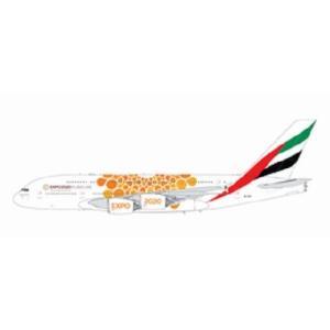 ジェミニ200 1/200 A380-800 エミレーツ航空 (オレンジ Expo 2020) A6-EOU 完成品 艦船・飛行機 G2UAE758 posthobbyshop