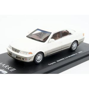 ミニカー ラックス (L43043) 1/43 トヨタ マークII(X100) 3.0グランデG 1996年 プレステージャスパールトーニング
