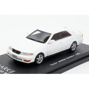 ミニカー ラックス (L43046) 1/43 トヨタ マークII(X100) ツアラーV 1996年 スーパーホワイトII