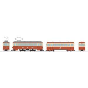 トミーテック Nゲージ 鉄道コレクション ナローゲージ80 猫屋線直通用路面電車+客車セット 鉄道模型 303350 2月予約|posthobbyshop