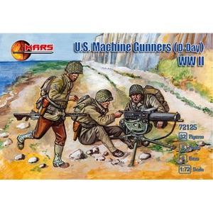 【11月予約】マースフィギア 1/72 アメリカ機銃チームD-dey・8ポーズ32体8丁 スケールモデル ORM72125 posthobbyshop