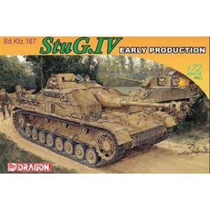 ドラゴン 1/72 WW.II ドイツ軍 Sd.Kfz.167 IV号突撃砲初期生産型 スケールモデル DR7235P 4月予約|posthobbyshop