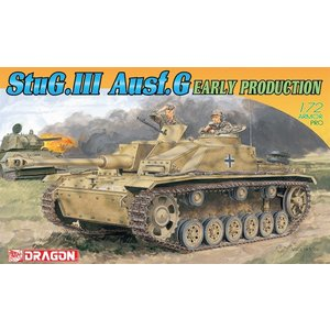 ドラゴン 1/72 WW.II ドイツ軍 III号突撃砲G型 初期生産型 スケールモデル DR7283P 4月予約|posthobbyshop