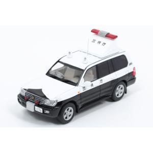 ミニカー レイズ RAI'S (H7430410) 1/43 トヨタ ランドクルーザー(UZJ100) 2004 警視庁高速道路交通警察隊事故処理車両