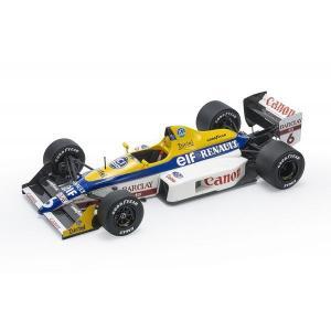 【12月予約】トップマルケス 1/18 ウィリアムズ FW12 No.6 F1 N.マンセル 完成品ミニカー GRP108B|posthobbyshop
