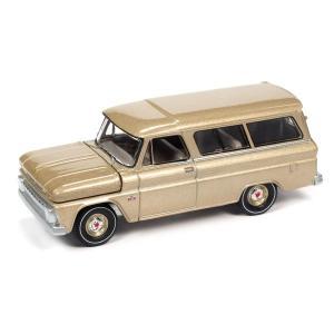 【12月予約】AUTOWORLD 1/64 シェビー サバーバン 525 サドル ポリ 1966 完成品ミニカー AWSP073B posthobbyshop