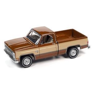 【12月予約】AUTOWORLD 1/64 シェビー シルバラード 10 ライトブロンズ/アーモンド 1983 完成品ミニカー AWSP074A posthobbyshop