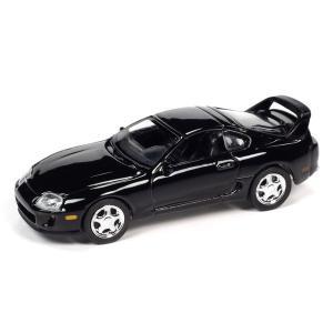 【12月予約】AUTOWORLD 1/64 トヨタ スープラ 1994 グロスブラック 完成品ミニカー AWSP075A posthobbyshop