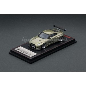 イグニッションモデル 1/64 パンデム R35 GT-R パンデム R35 GT-R グリーンメタリック 完成品ミニカー IG1748|posthobbyshop