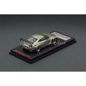 イグニッションモデル 1/64 パンデム R35 GT-R パンデム R35 GT-R グリーンメタリック 完成品ミニカー IG1748|posthobbyshop|02