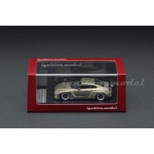 イグニッションモデル 1/64 パンデム R35 GT-R パンデム R35 GT-R グリーンメタリック 完成品ミニカー IG1748|posthobbyshop|03